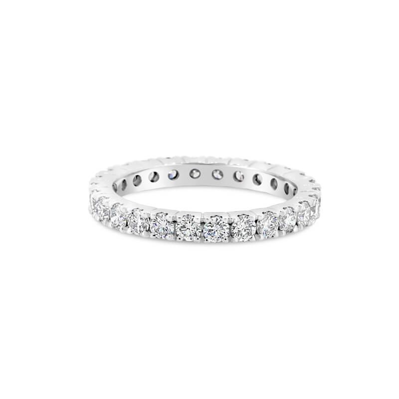 Platinum Full Circle Diamond Eternity Ring