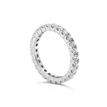 Platinum Full Circle Diamond Eternity Ring