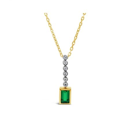 Biron Emerald Necklace